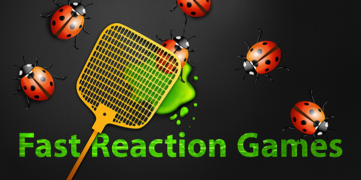 Fast Reaction Games